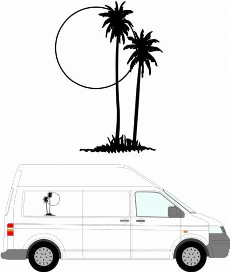 (No.120) MOTORHOME GRAPHICS STICKERS DECALS CAMPER VAN CARAVAN 550mm High